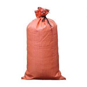 14%22 x 26%22 High UV Empty Orange Sandbags with Ties