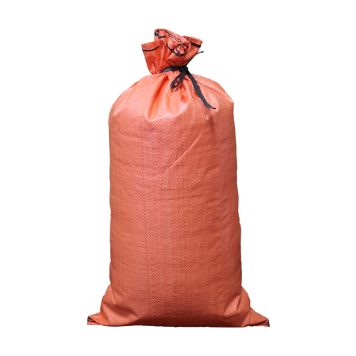 "18"" x 27"" High UV Empty Orange Sandbags with Ties"