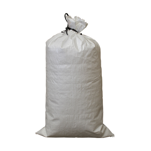 "14"" x 26"" High UV Empty White Sandbags with Ties"
